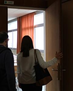 Mathilde à la Faculté de Nancy